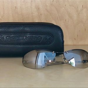 Rare Authentic CHROME HEARTS Unisex sunglasses
